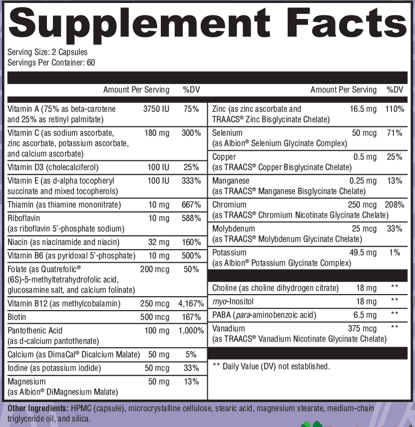 ultra-nutrients-label