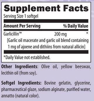 UltraGarlicbacklabel - Ultra Garlic