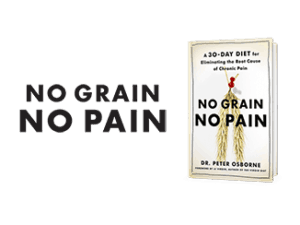 No grain no pain Dr. Peter OSborne