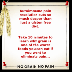 Dr. Osborne Discusses No Grain No Pain