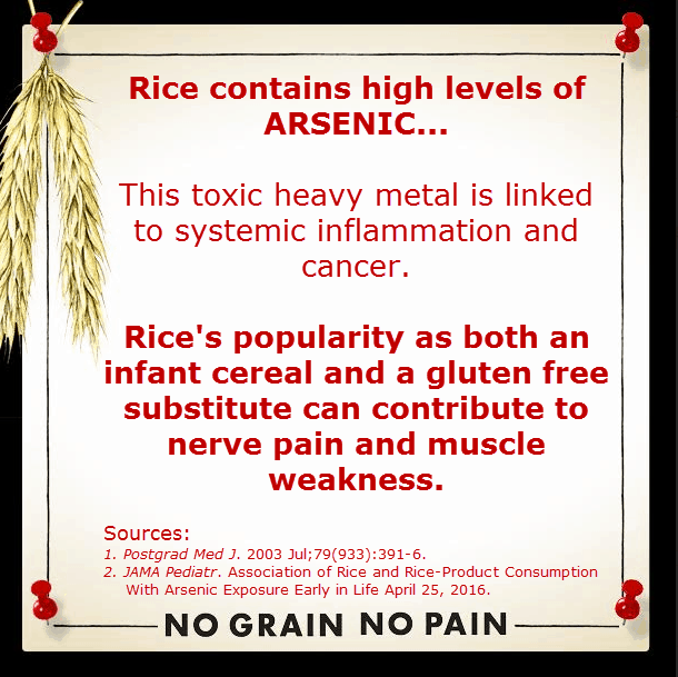 No Grain No Pain Rice Causes Damage
