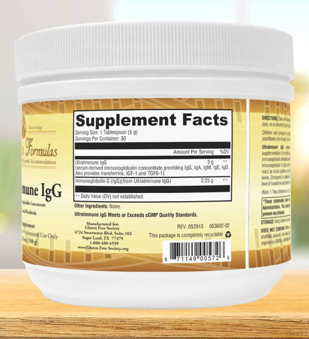 ultra-immune-IgG-powder-label-facts