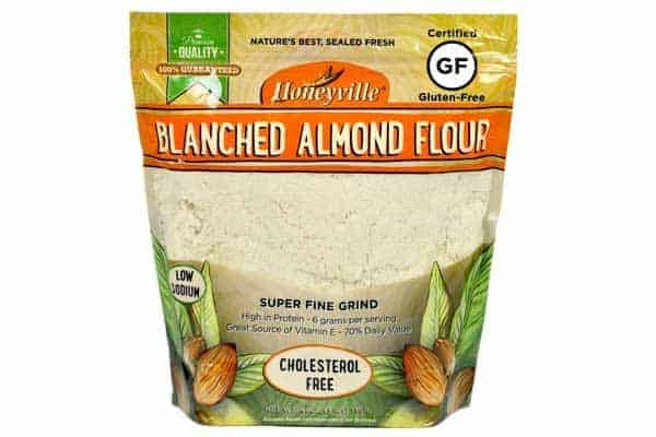 grain and gluten free almond flour