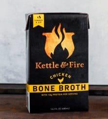 chicken bone broth gluten free 222x244 - Kettle and Fire Organic Chicken Bone Broth