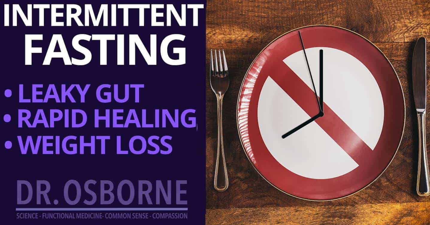 intermittent fasting for leaky gut