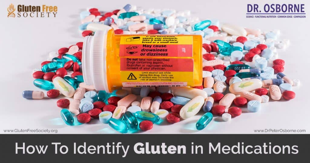 is there gluten in medication