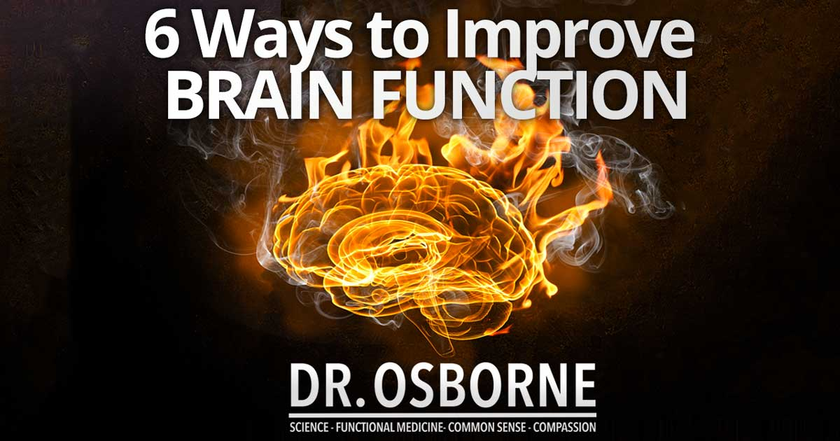 Natural Ways to Improve Brain Function