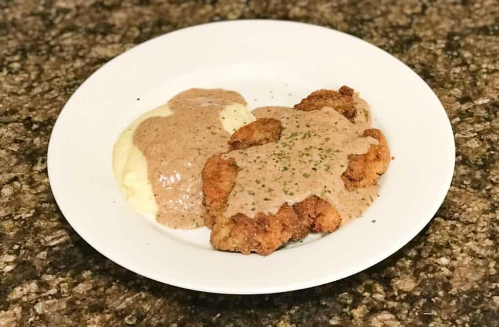 Chicken fried steak 4