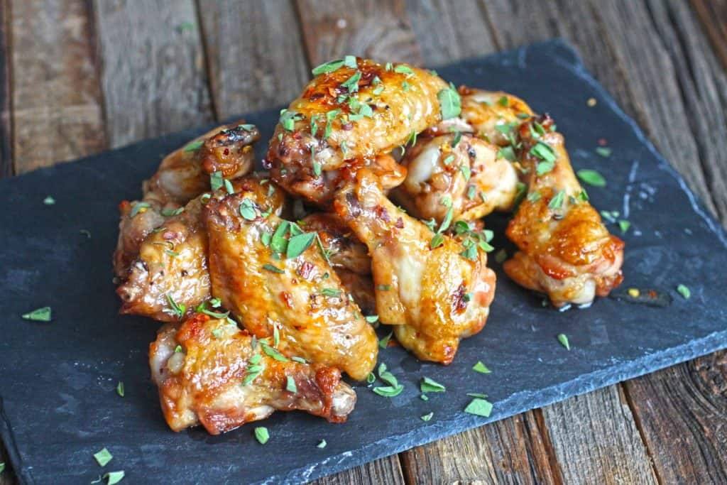 gluten free chicken wings recipe