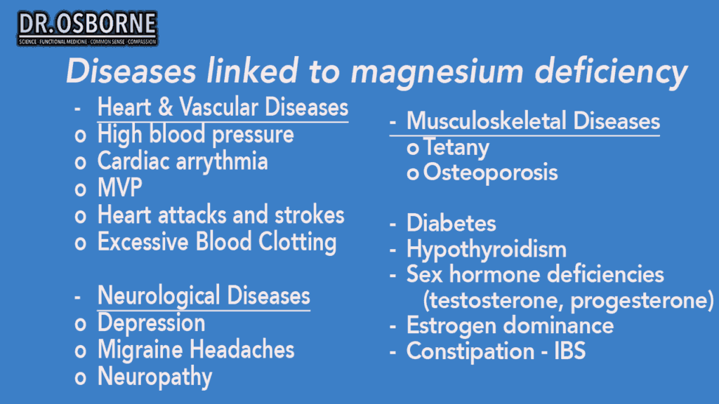 7 1 Magnesium Diseases 5 1024x576 - Everything You Need to Know About Magnesium