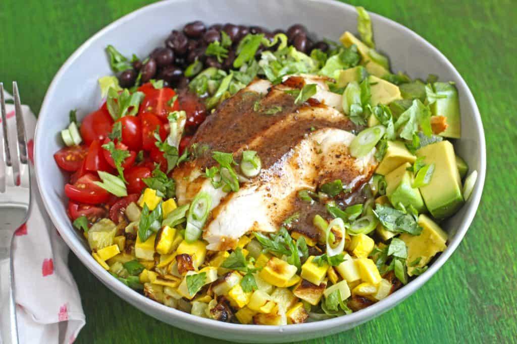 No grain no pain recipes - Southwest salad