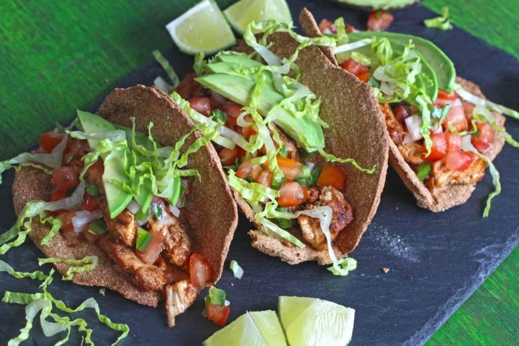 Warrior Bread Tacos - Gluten Free