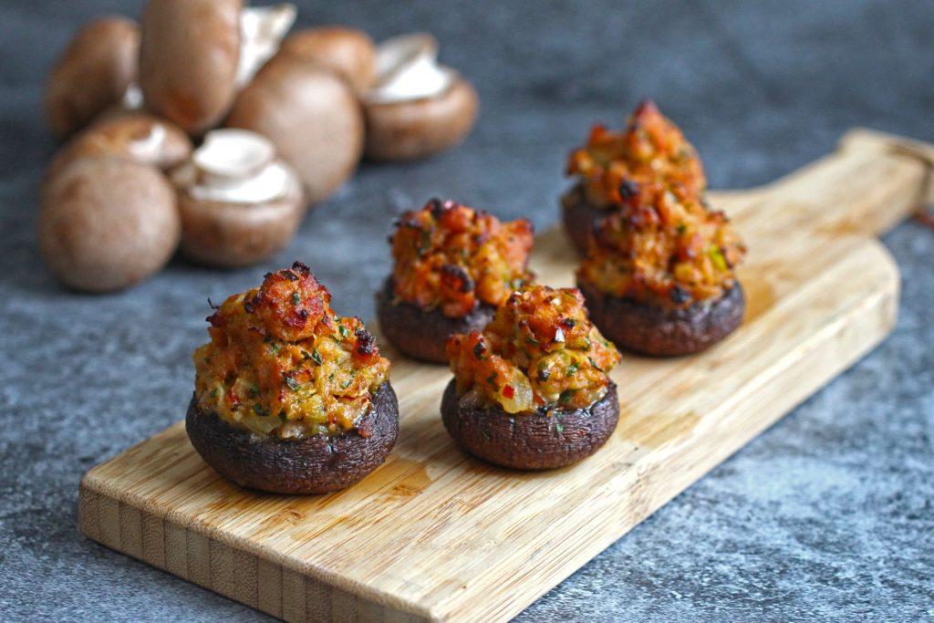Stuffed Mushrooms 3