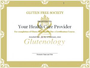 Gluten Certified