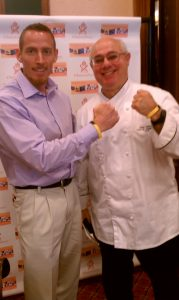 Chef Peter Reinhart and Dr. Osborne at the Gluten Free Expo