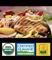 Organic Free Range Chicken for a healthy gluten free diet