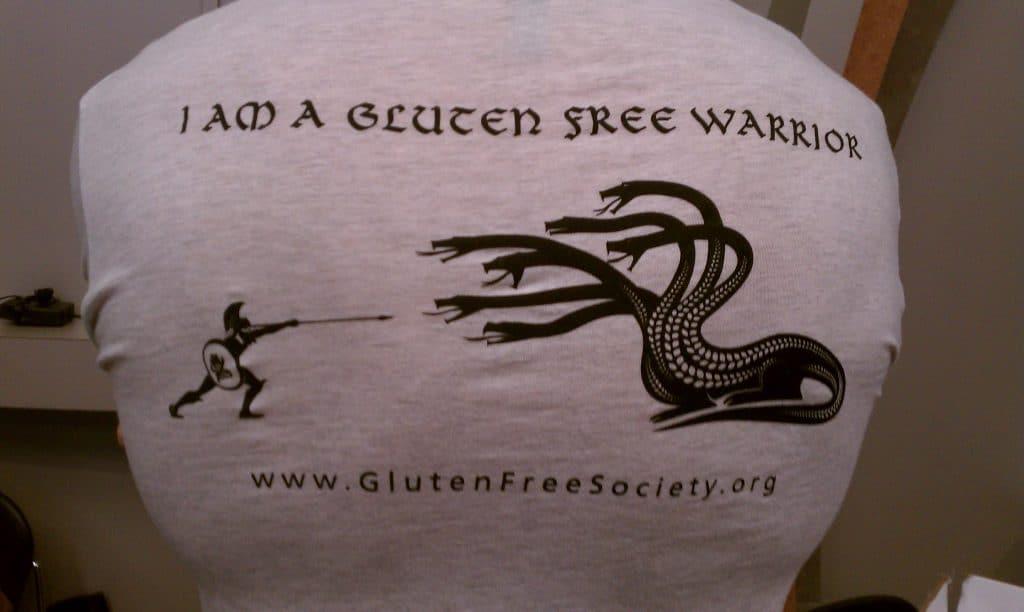 Gluten Free Warrior T-Shirt