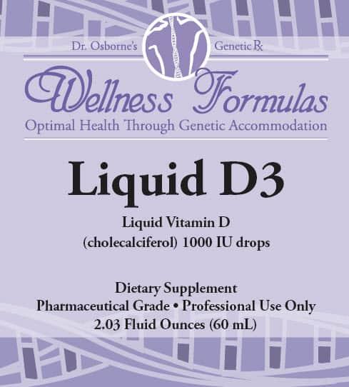 Liquid D3 - Gluten Free Vitamin D Supplement