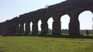 Gluten Free in Italy - Roman Aqueducts