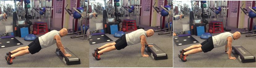 push up with platform - gluten free
