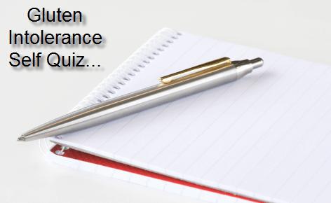 gluten intolerance quiz