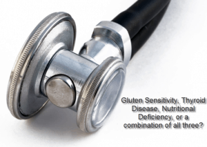 vitamin deficiency and gluten contribute to thyroid disease